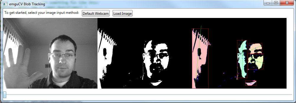 C# WPF Blob Tracking Example With Emgu CV-TechnoGumbo