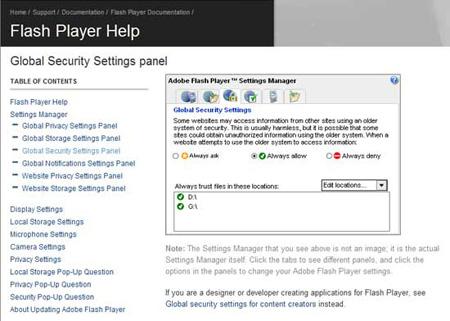 flash global security