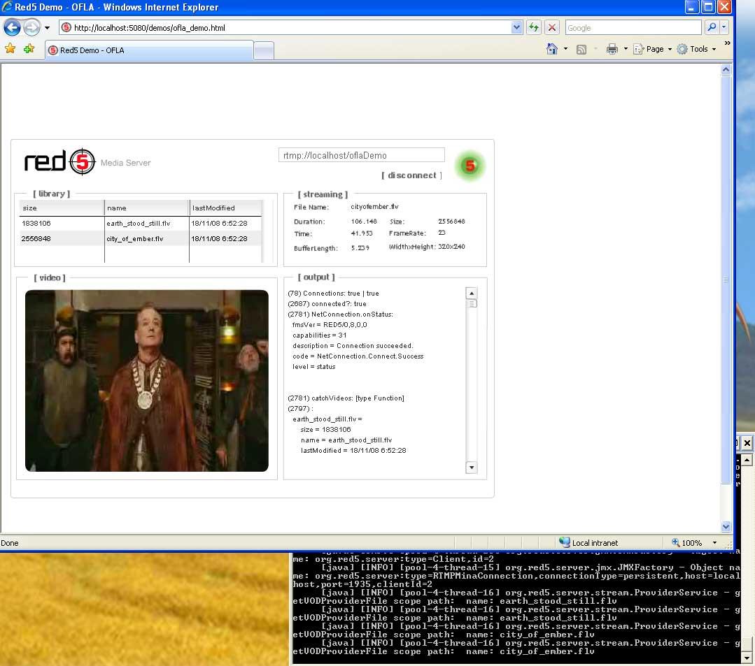Redmedia server