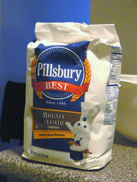 Pillsbury bread flour.